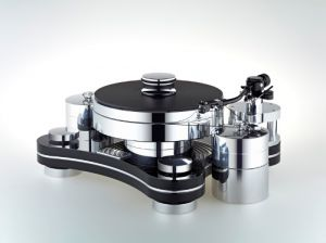 Transrotor ZET 3 mit TMD-Lager, Reed 1H, Merlo Reference und Konstant M1 Reference