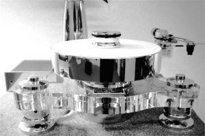 Transrotor Rondino Bianco FMD mit TRA9 Black und MC Figaro